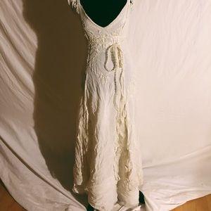 Vtg Florence Welch gypsy boho dress